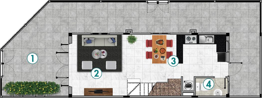 Nhà Phố L4-Góc