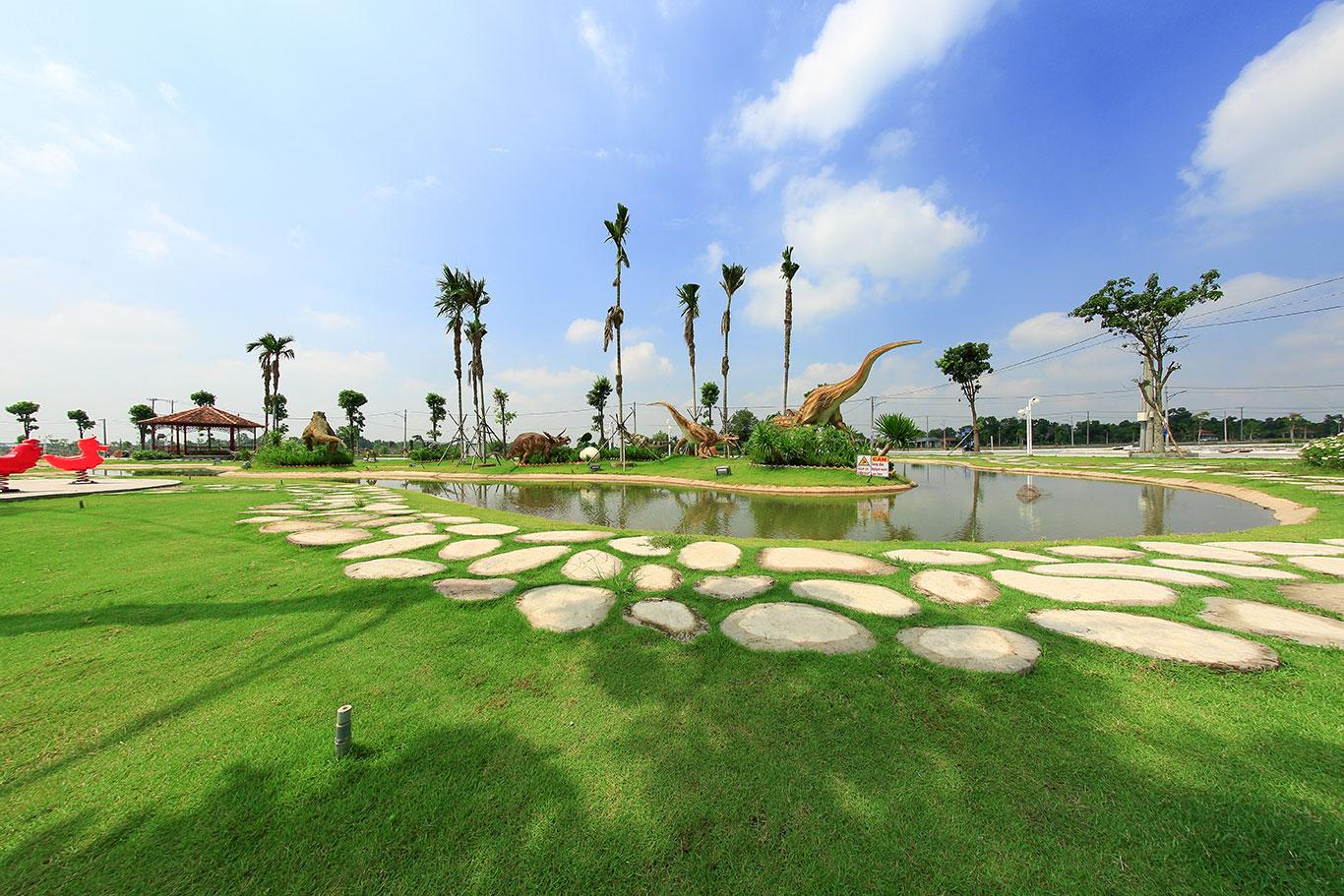 Không gian sống xanh tại đô thị sinh thái Cát Tường Phú Sinh