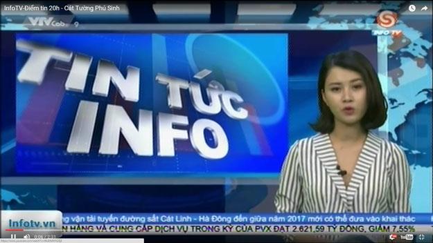 InfoTV - Điểm tin 20h - Cát Tường Phú Sinh