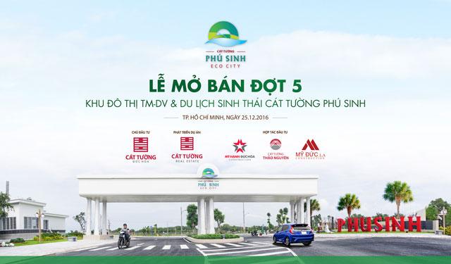 Mở bán dự án Cát Tường Phú Sinh - Đợt 5