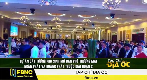 FBNC - Mở bán Cát Tường Phú Sinh Ngân Phát - Hoàng Phát