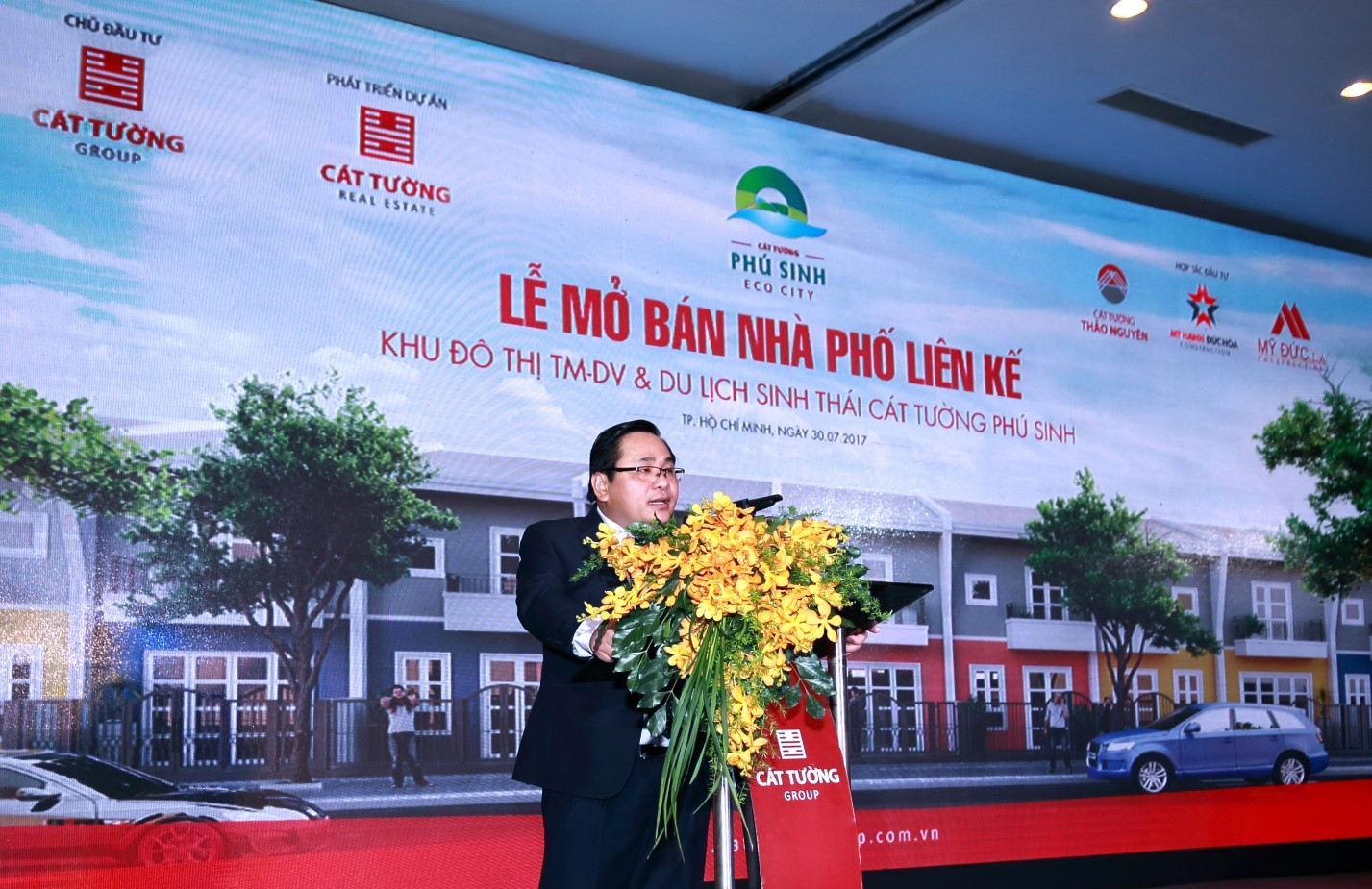 Cát Tường Group mở bán thành công hơn 300 căn nhà phố tại KĐT Cát Tường Phú Sinh