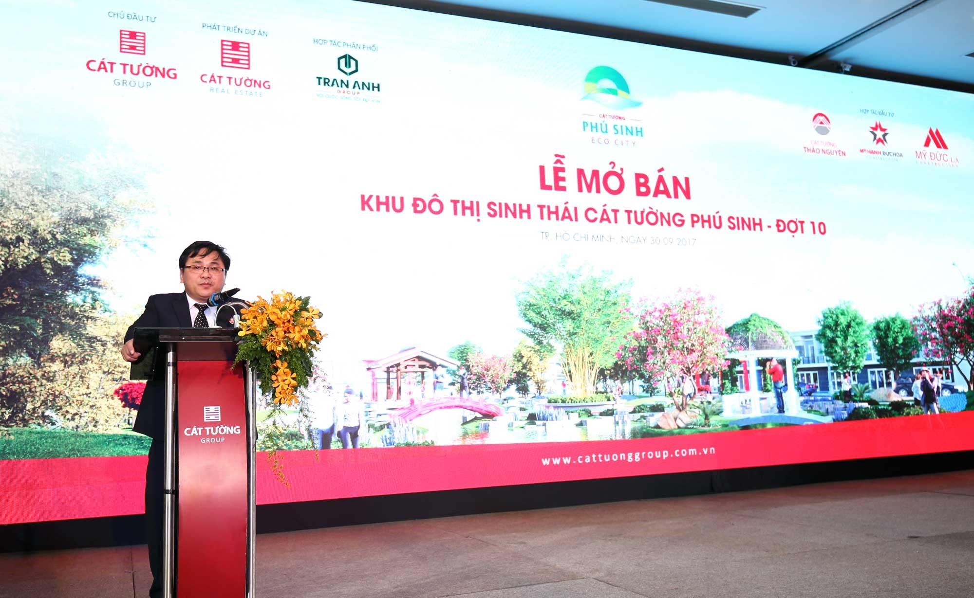 Bùng nổ giao dịch ngày mở bán đô thị sinh thái Cát Tường Phú Sinh đợt 10