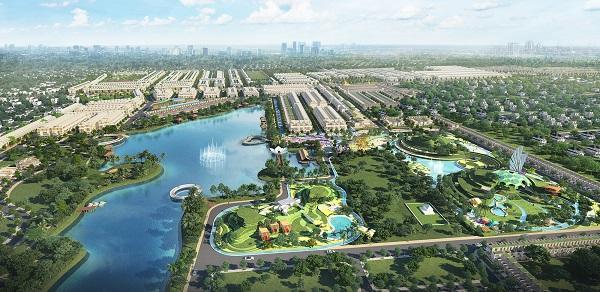 Những con số ấn tượng tại đô thị sinh thái bậc nhất khu Tây Bắc Sài Gòn