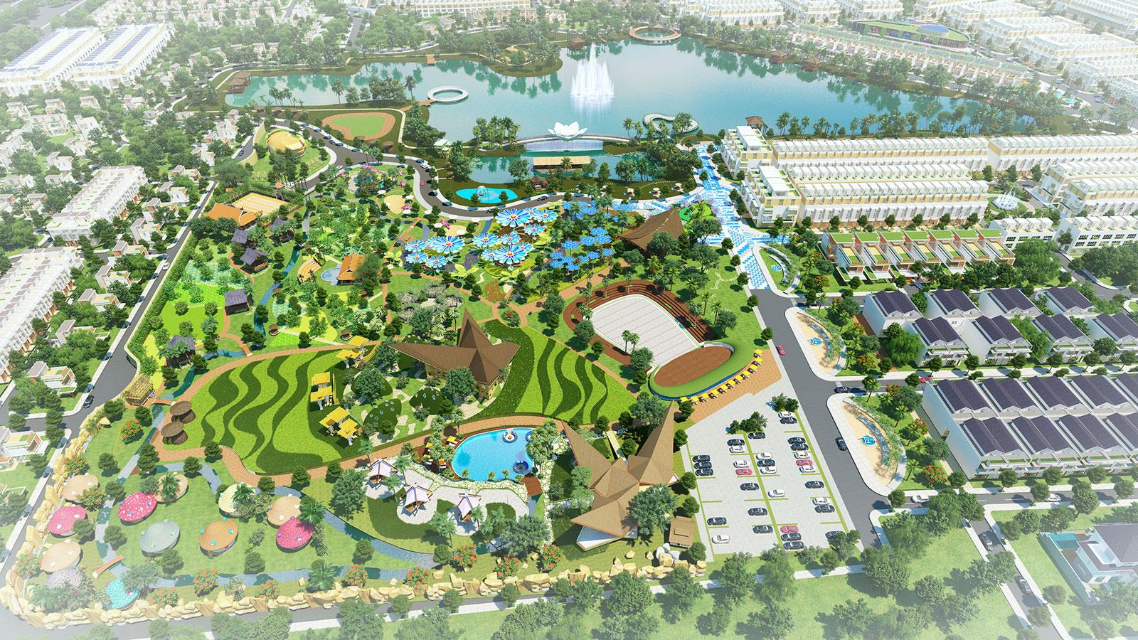 Nghỉ dưỡng tại gia trong khu đô thị sinh thái Cát Tường Phú Sinh