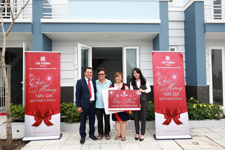 """Cát Tường Group tổ chức chương trình """"Mừng Tân Gia"""" cho khách hàng KĐT Cát Tường Phú Sinh"""